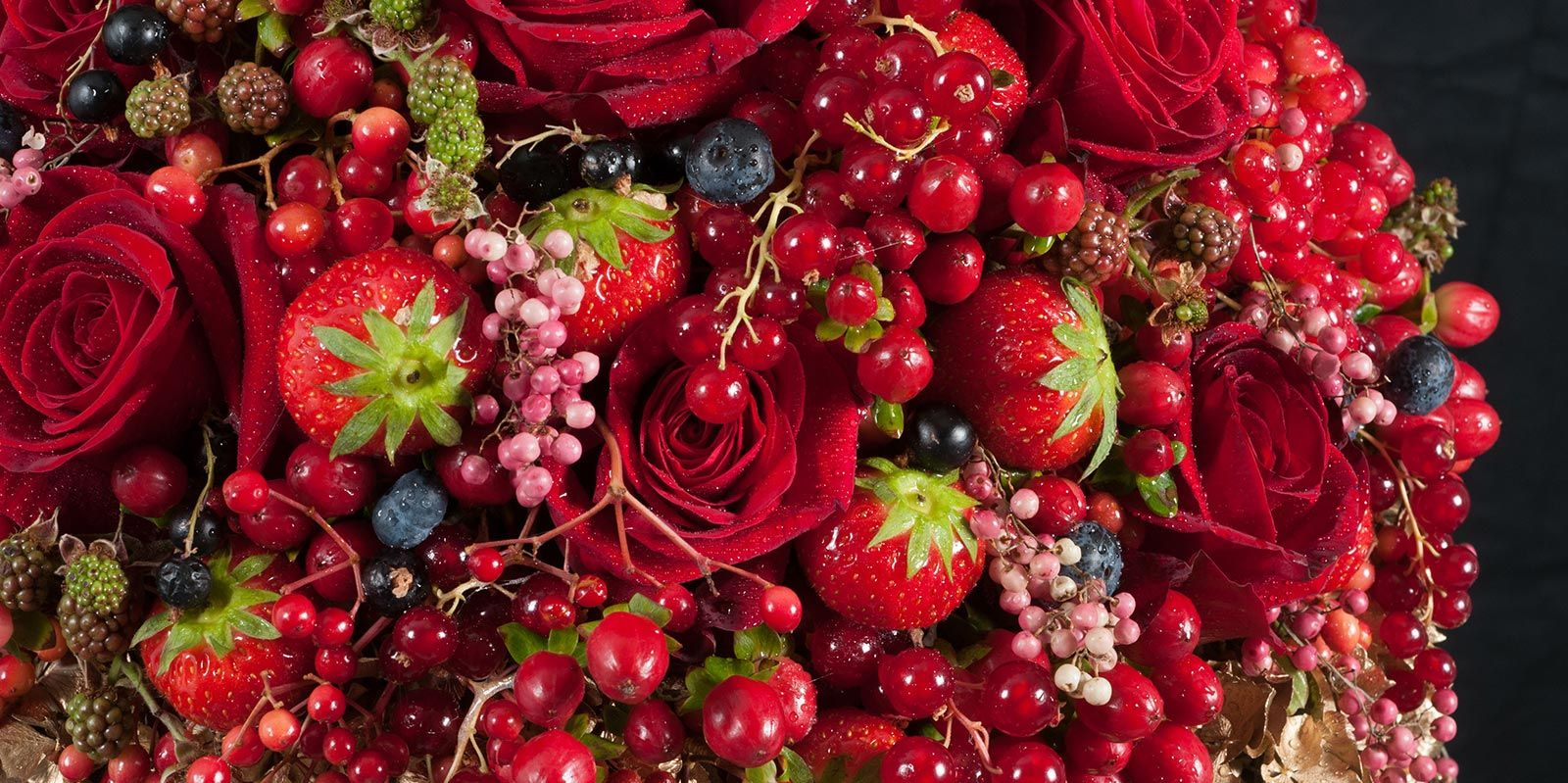 Bouquet rouge - formation fleuriste