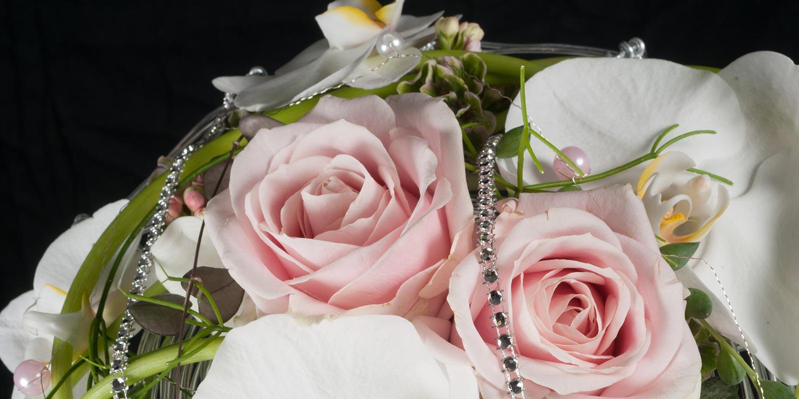 Détail de composition florale - formation fleuriste