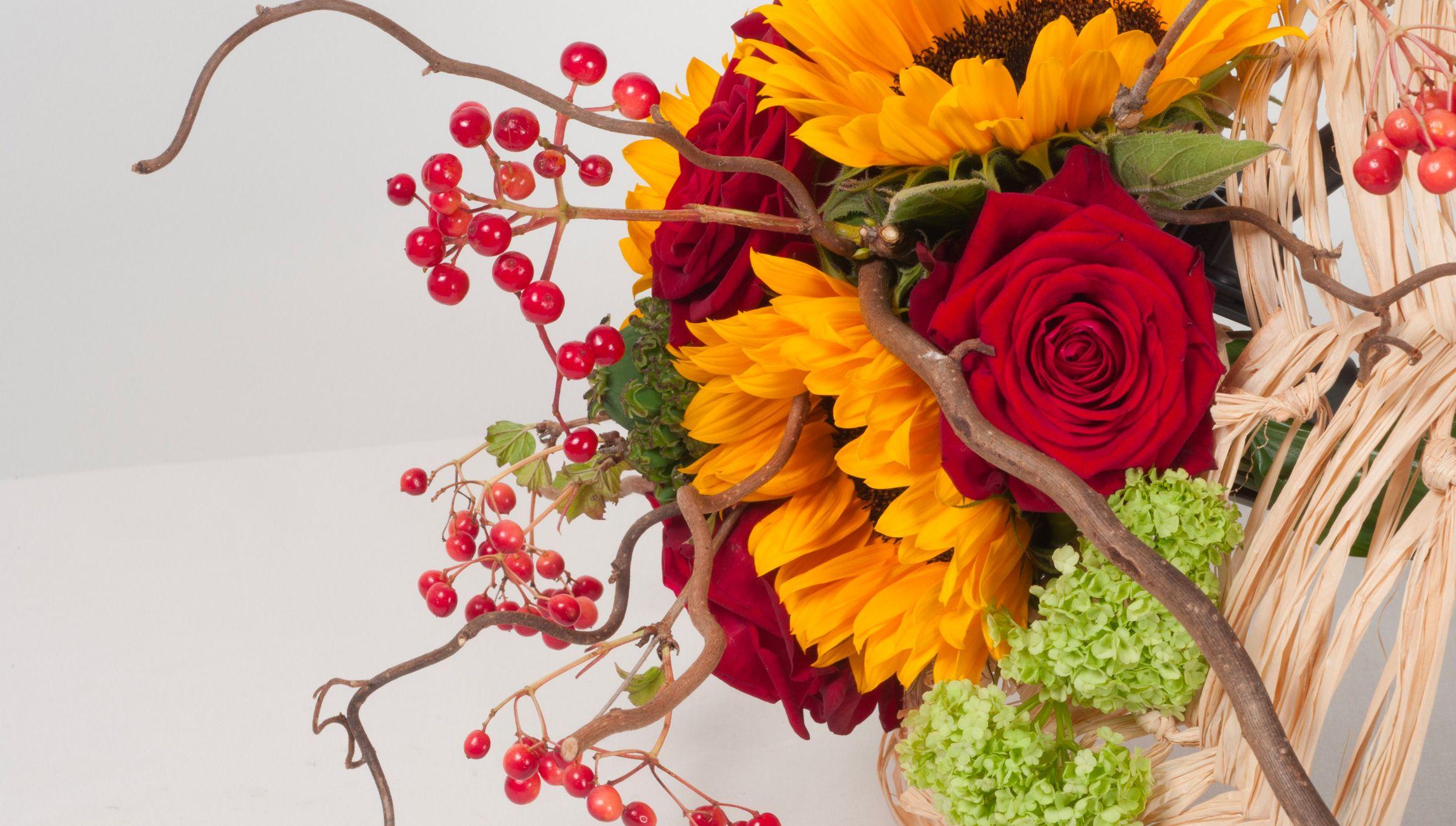Bouquets tendances - formation fleuriste