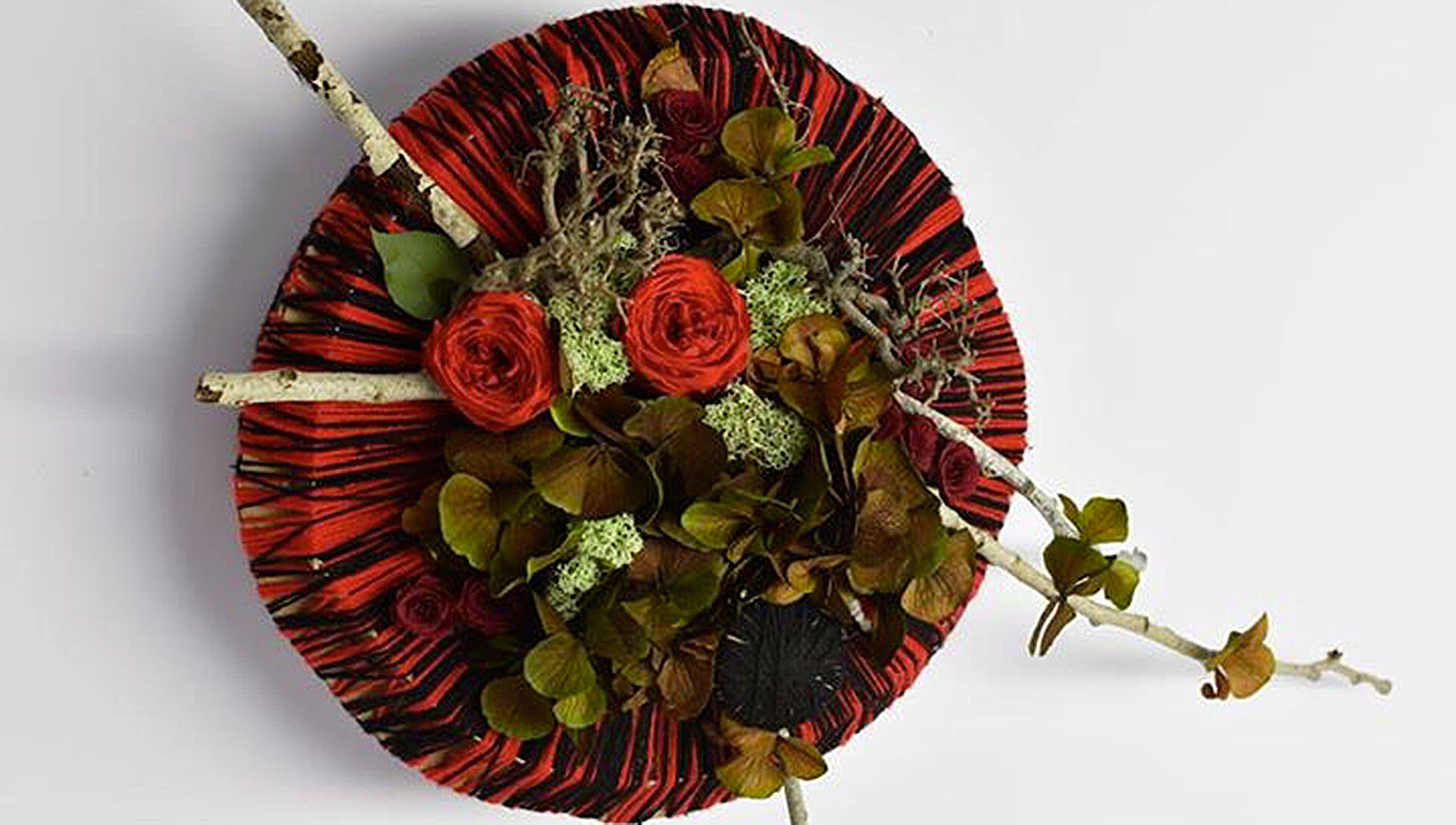 Floriform : formation design et recyclage - centres de table