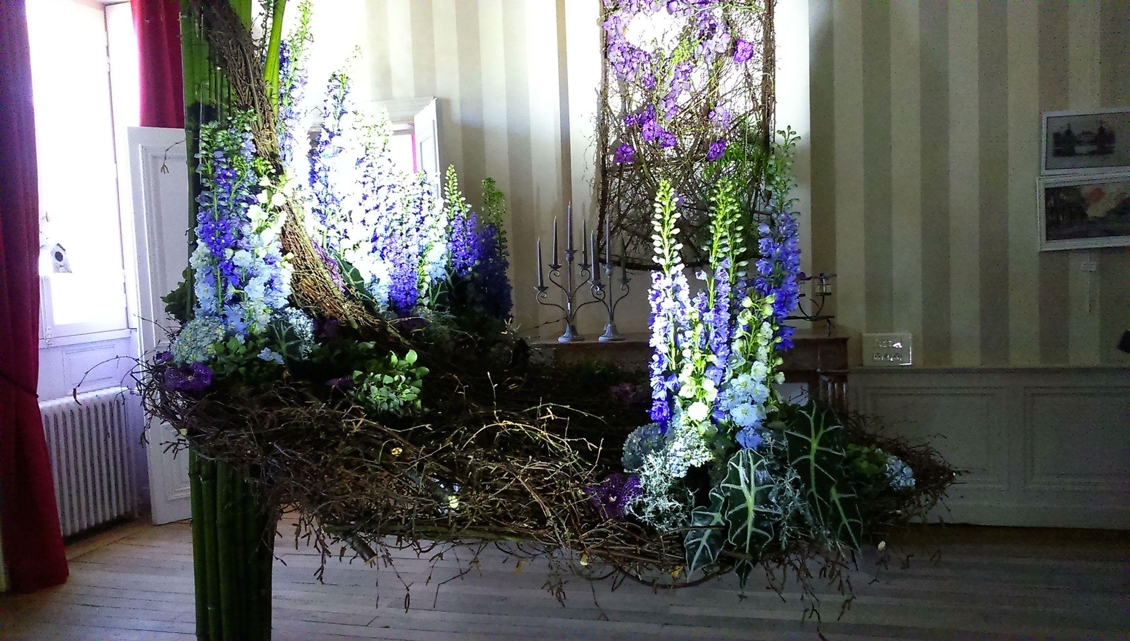 Floriform : formation création florale de grands décors