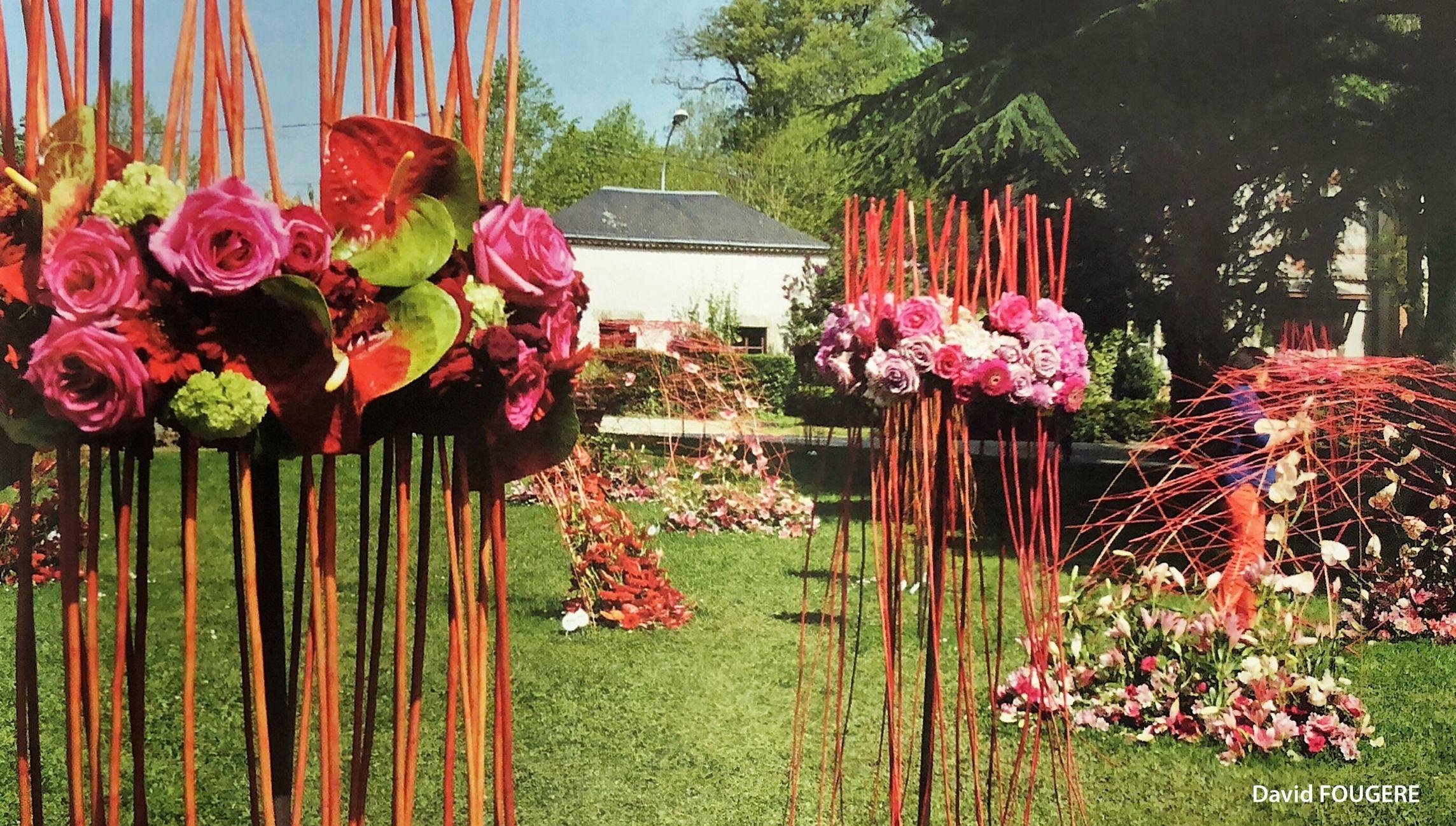 Floriform : formation grands décors de fleurs